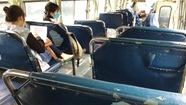 Nhiều xe buýt xuống cấp, hư hỏng
