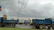 Bị dân 'vây', trạm BOT Tasco Quảng Bình miễn phí vé
