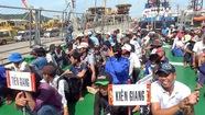239 ngư dân Việt Nam bị Indonesia bắt giữ được về nhà