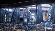 Hỏa hoạn thiêu rụi đền Độc Lôi Sơn ở Nghệ An
