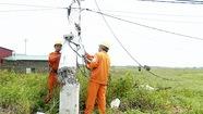 Quảng Bình khôi phục xong lưới điện hư do bão số 10