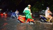 Ngập nặng ở Bình Thạnh sau cơn mưa lớn