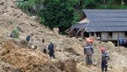 Phá khối đá lớn, tìm được 3 thi thể cuối vụ lở đất ở Hòa Bình