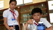 Công trình chống ô nhiễm ở làng nghề của học trò lớp 9