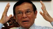 Lãnh đạo đối lập Campuchia bị truy tố tội phản quốc