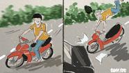 82,9% tai nạn trên đường là va chạm xe máy