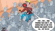 'Ở VN chạy xe không bóp còi, an toàn mới lạ'!