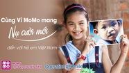 Ủng hộ phẫu thuật nụ cười cho trẻ em qua MoMo