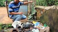 Điểm thu mua sầu riêng bị ném bom xăng dằn mặt người mua
