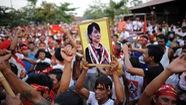 Dân chúng Myanmar tập trung ủng hộ bà Aung San Suu Kyi