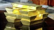 Giá vàng thế giới cao nhất trong một tháng
