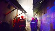 Cháy cửa hàng vàng mã, bé 4 tháng tuổi bị ngạt khói