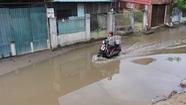 Khu đô thị nâng nền 2,5m, 3.000 hộ dân ngập trong nước