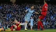 M.C và Liverpool chia điểm tại Etihad