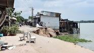 Xin Chính phủ 123 tỉ đồng khắc phục sạt lở sông Vàm Nao