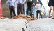 Nhiều nhà ở trung tâm Đà Lạt bỗng dưng nứt toác