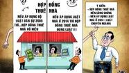 Rối tung với hợp đồng thuê nhà không công chứng