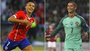 1h ngày 29-6: Ronaldo quyết đấu với Sanchez