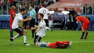 Những hình ảnh ấn tượng trong trận chung kếtConfederations Cup 2017
