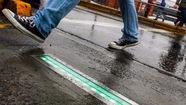 Đèn giao thông cảnh báo người 'nghiện' điện thoại di động