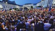 Hàng chục ngàn người Ba Lan biểu tình phản đối cải cách
