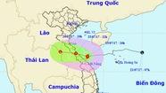 Bão đang trênbiển Hà Tĩnh - Quảng Trị, giật cấp 9-10