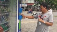 Cần Thơ lắp 12 máy bán hàng tự động nơi công cộng