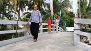 Khánh thành cầu Mùa hè xanh tại Vĩnh Long