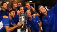 Federer giúp đội châu Âu vô địch Laver Cup 2017