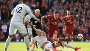 Clip những tình huống nổi bật trận Liverpool hòa M.U 0-0