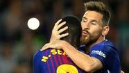 Barca lại trông đợi vào Messi