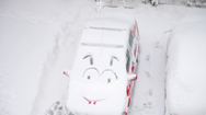 Những tai nạn hài hước vào ngày có tuyết
