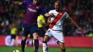 Kết quả trận đấu Vallecano 2-3 Barcelona: Suarez lập cú đúp
