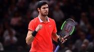 Thắng 'sốc' Djokovic, Khachanov vô địch Paris Masters 2018