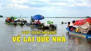 Tin nóng 24H: Người Việt ở biển hồ Campuchia - Vượt dòng Mekong về lại quê nhà