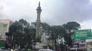 Tượng đài An Dương Vương đang có dấu hiệu xuống cấp