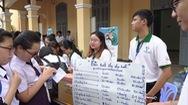 Hàng ngàn học sinh hào hứng tham gia phân loại rác, tìm tuổi thọ cho rác