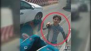 Đôi nam nữ vung kiếm chém nát kính xe tải trên Quốc lộ 13