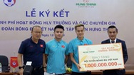 Tập đoàn Hưng Thịnh hỗ trợ kinh phí hoạt động HLV trưởng đội tuyển quốc gia