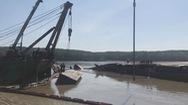 Lên phương án trục vớt tàu chở container bị chìm ở Cần Giờ