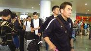 Đội tuyển Thái Lan tới Hà Nội, chuẩn bị cho trận đấu với VN ngày 19-11