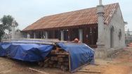 """Chùa triệu đô xây """"chui"""" xâm lấn đất bảo vệ đền cổ"""