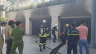 Cháy lớn ở ngôi biệt thự tại Đà Nẵng