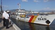 Lai dắt thành công tàu cá Quảng Ngãi bị nạn trên vùng biển Trường Sa