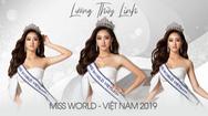 Giải trí 24h: Lương Thùy Linh vào top 40 người mẫu Miss World