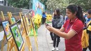 Tinh thần chiến binh qua những bức tranh của các bệnh nhi tại Hà Nội
