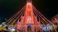 Góc nhìn trưa nay | Nhà thờ hơn 100 tuổi lung linh sắc màu trong Giáng sinh