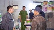 Phát hiện cơ sở sản xuất sơn đặt ống ngầm, xả thải trực tiếp ra môi trường