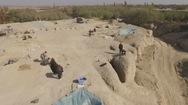 Phát hiện lăng mộ cổ từ thời nhà Đường