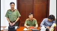 """Tạm đình chỉ công tác 2 lãnh đạo đội CSGT Đồng Nai """"bảo kê xe quá tải"""""""